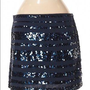 Express sequin mini skirt size M